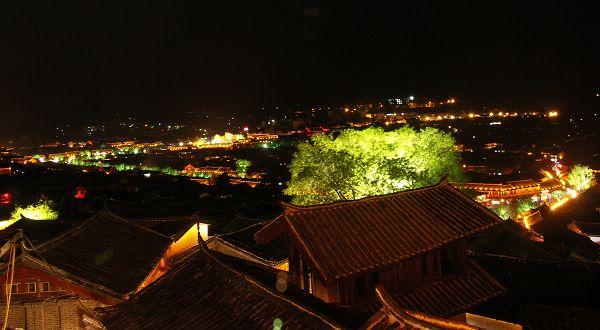麗江風光圖片
