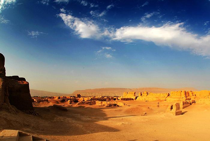 圖片:新疆高昌古城