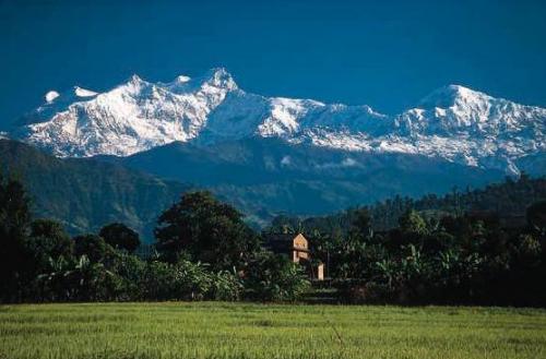 尼泊爾風光圖片:安納普爾納山