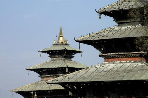 尼泊爾風光圖片:塔萊珠女神廟