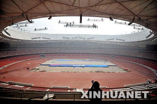 北京奧運會主會場:鳥巢圖片