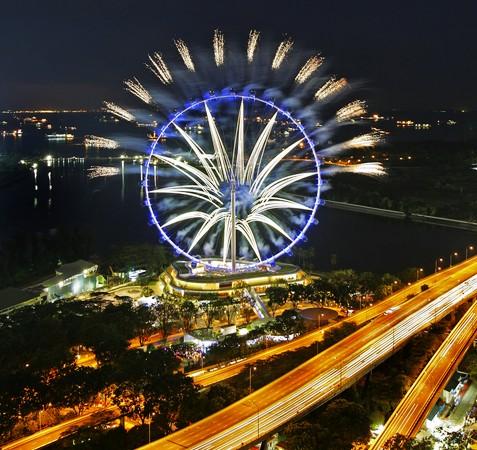 圖片:世界最高的摩天輪「新加坡飛行者」 - Singapore Flyer 新加坡摩天觀景輪 - 中國旅遊部落格