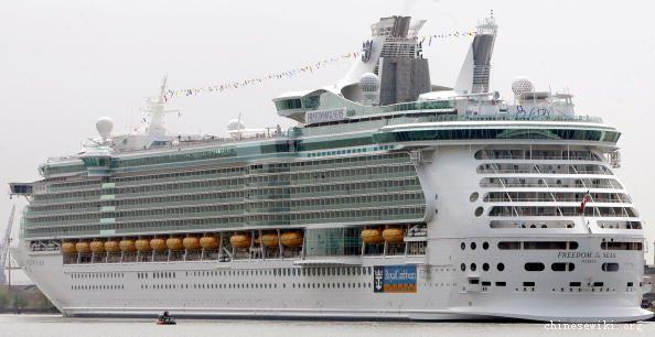 圖片:世界最大的郵輪-海洋解放者號