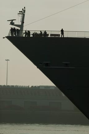 組圖:世界最大遊輪將於5月開始首航
