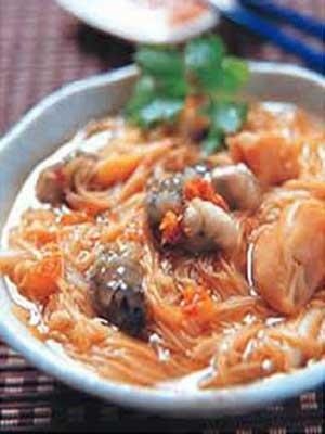 台灣美食圖片:台北特色小吃-阿宗麵線