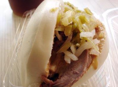 台灣美食圖片:特色小吃-割包