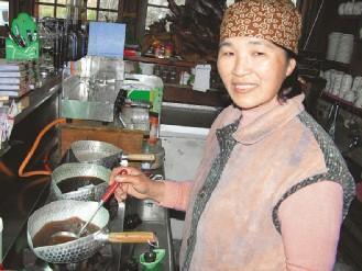 台灣美食圖片:特色美食-薑汁撞奶