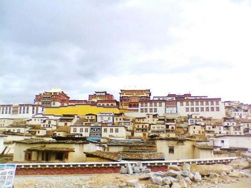 圖片:中甸松贊林寺