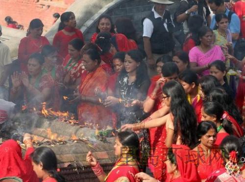 圖片:尼泊爾女人節