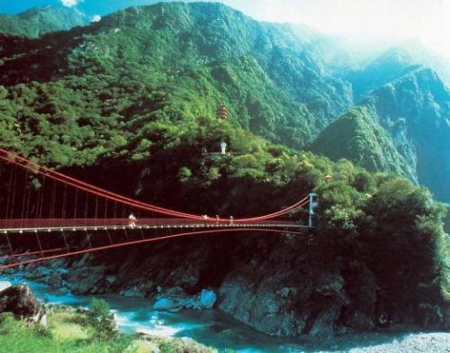 台灣旅遊景點圖片:花蓮太魯閣