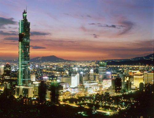 台灣旅遊景點圖片:台北101大樓