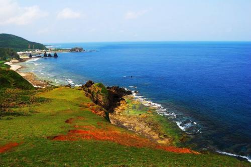 台灣旅遊景點圖片:綠島