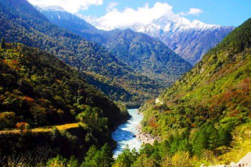 西藏秋季風光圖片