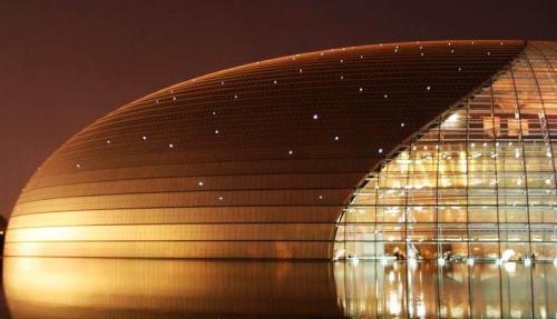 中國國家大劇院夜景