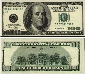 100美金圖片