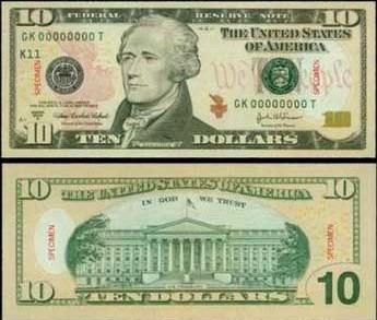 10美金圖片