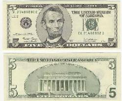 5美金圖片
