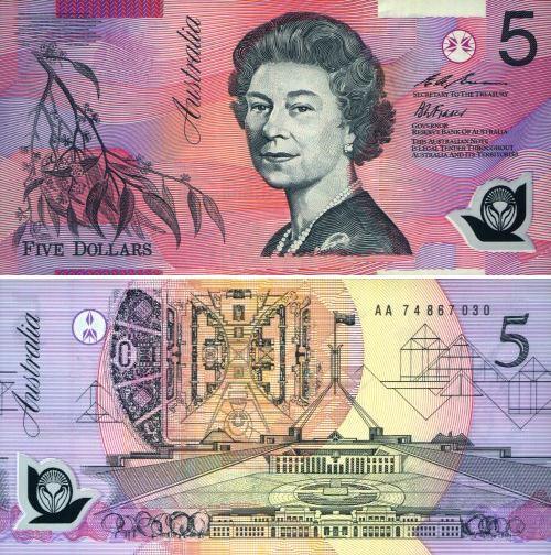 澳大利亞元圖片-5澳幣