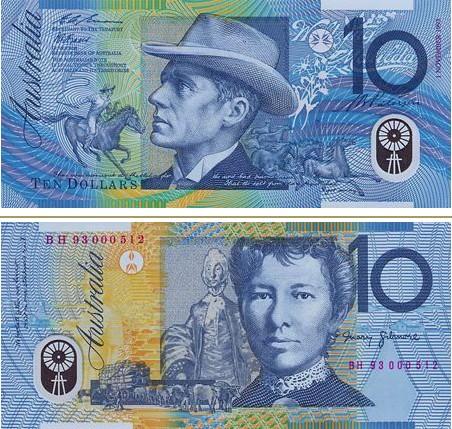澳大利亞元圖片10澳幣
