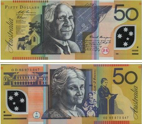 澳大利亞元圖片50澳幣
