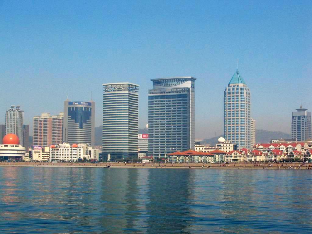 中國風景圖-山東青島