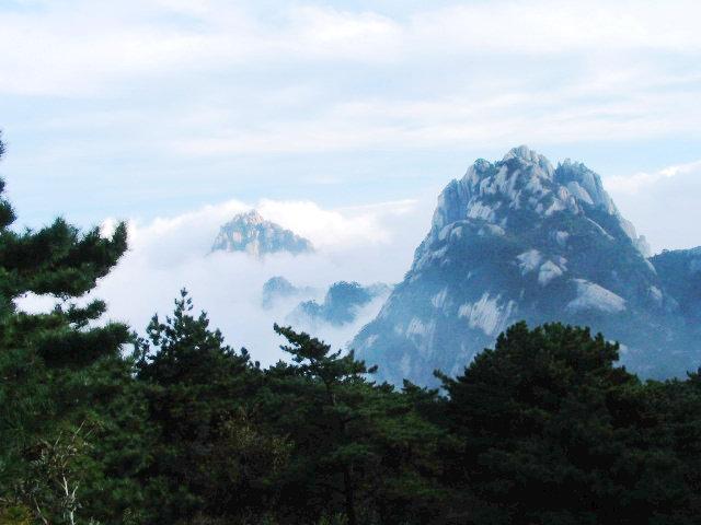 中國十大風景區-黃山風景區照片