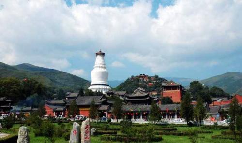 中國四大佛教名山圖片-五台山