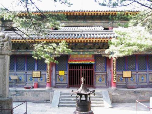 圖片:五台山羅睺寺
