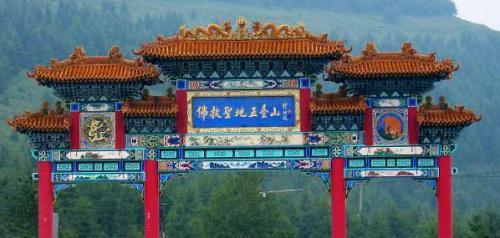 圖片:中國四大佛教名山之首五台山
