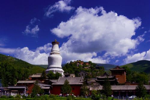 圖片:中國四大佛教名山-五台山