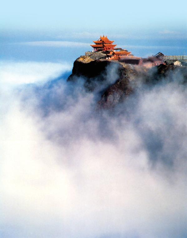 中國四大佛教名山-峨眉山