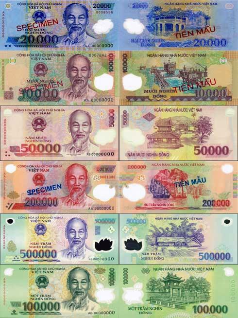越南貨幣-越南幣圖片