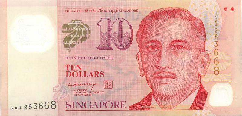 新加坡幣圖片-10元-2005年版
