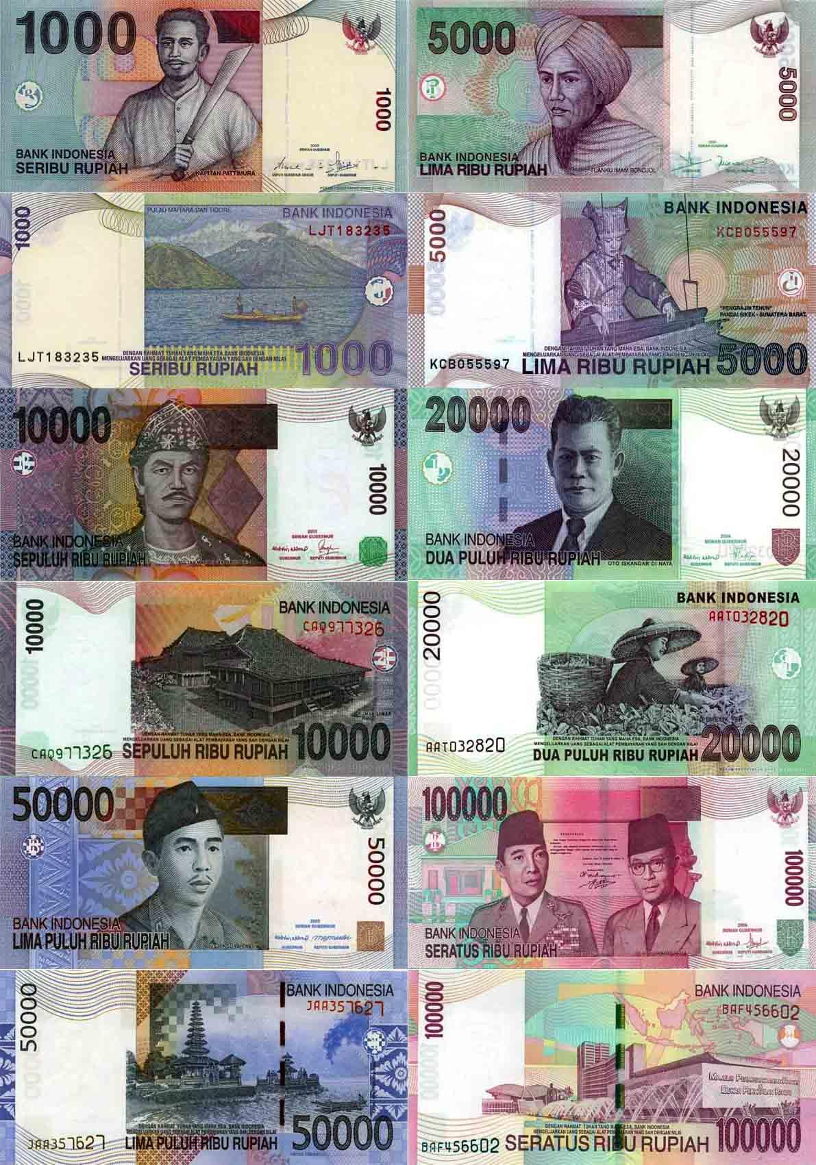 印度尼西亞貨幣-印尼盾圖片