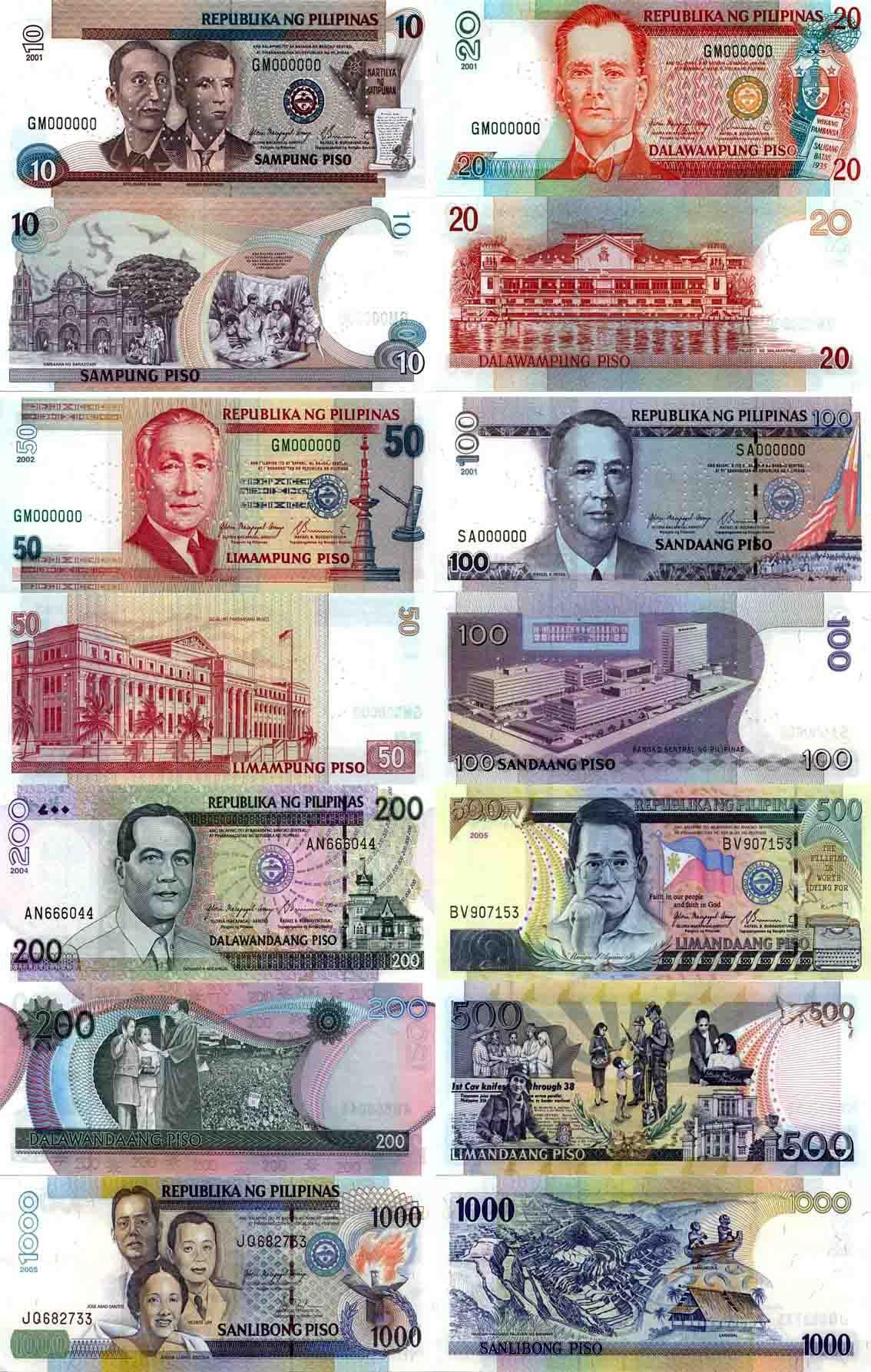 菲律賓貨幣-菲律賓幣圖片