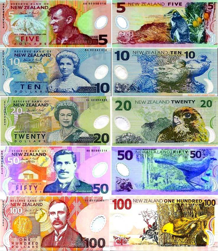 紐西蘭貨幣-紐西蘭幣圖片