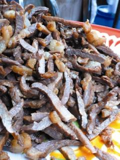 泰國小吃圖片-炸牛肉乾