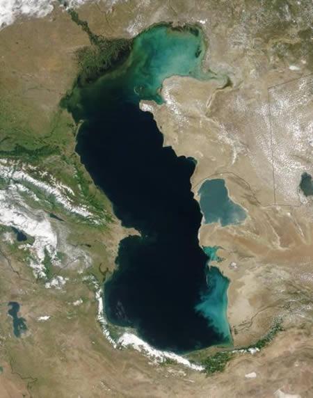 俄羅斯裡海:世界最大湖