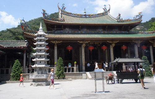 圖片:中國大陸旅遊指南-廈門南普陀