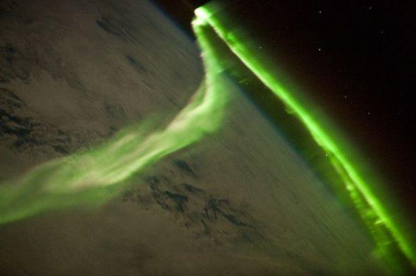 南極光圖片
