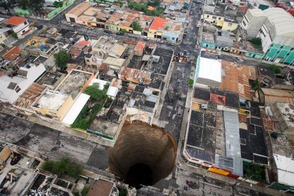危地馬拉天坑圖片