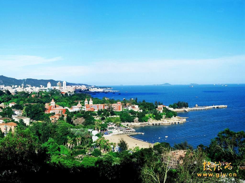 圖片:中國大陸旅遊指南 -廈門鼓浪嶼