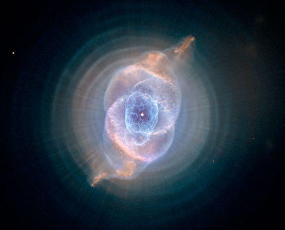 圖片:美國國家地理2010年十大太空發現-預測時間盡頭