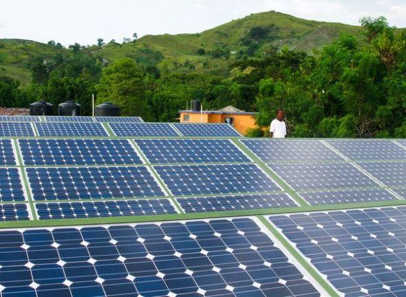 太陽能為震後海地帶來光明