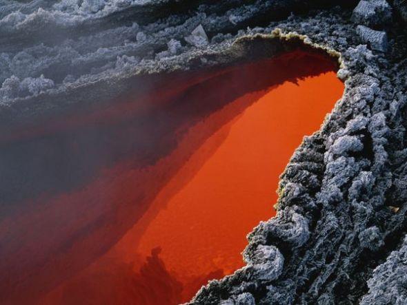 埃特納火山熔岩流
