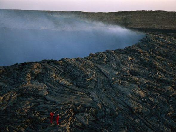 埃塞俄比亞厄塔爾火山口