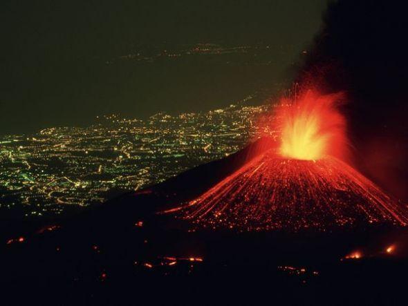 意大利埃特納火山