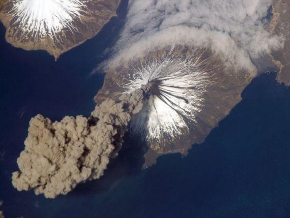 美國阿拉斯加州克利夫蘭火山