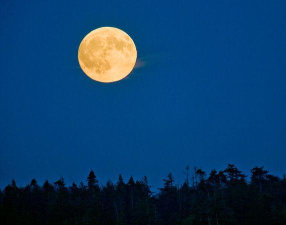 圖片:美國國家地理2010年十大太空發現-2010年最大滿月