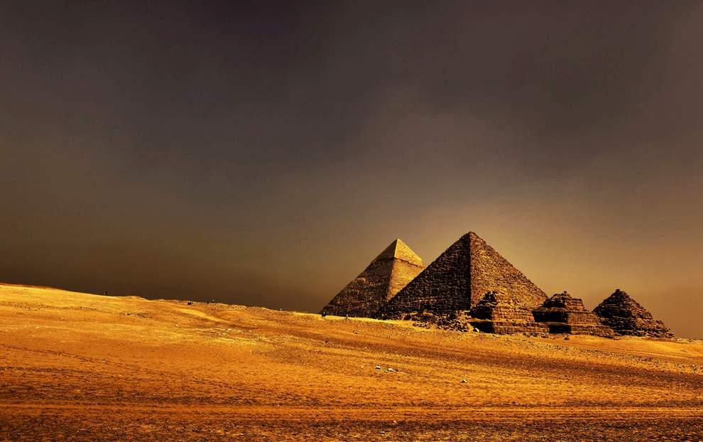 高清圖片:2010年美國國家地理攝影大賽作品-大金字塔
